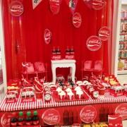 Quero uma festa Coca-Cola!!