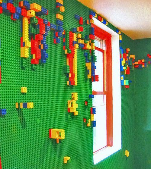 parede de LEGO