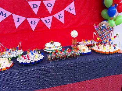 decoração de mesa para festa junina