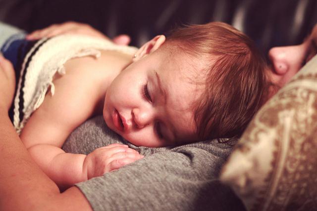 bebê doente