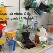louça pra lavar