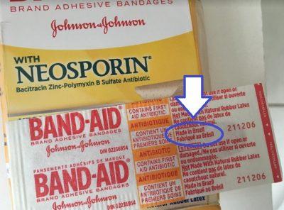 """""""Made in Brazil"""", mas nunca vi esse produto nas farmácias nacionais :/"""