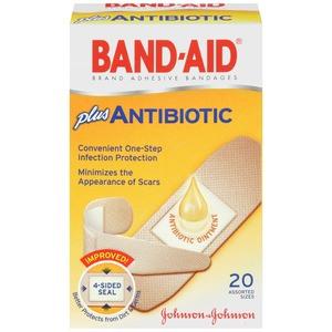 Band aid com antibiótico