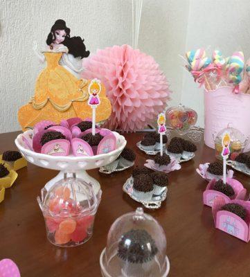 festa princesas decoração