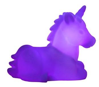 luminaria de unicornio
