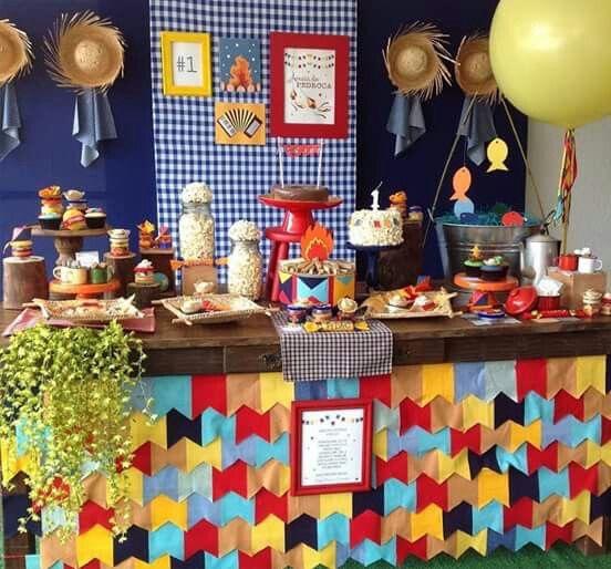 Festa Em Casa Decoração De Festa Junina