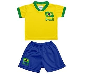 conjunto infantil uniforme brasil