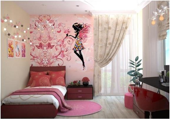 como decorar quarto de menina