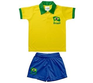 uniforme brasil infantil